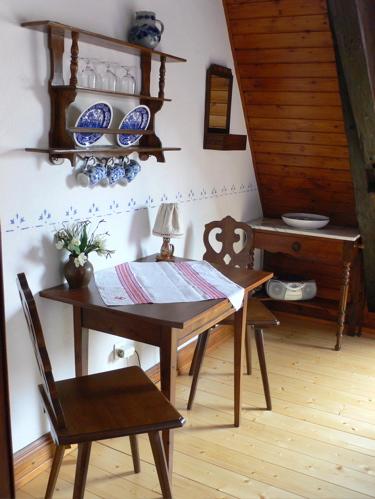 La chambre d 39 h tes du grenier 2 pers g tes alsaciens - La table alsacienne kaysersberg ...